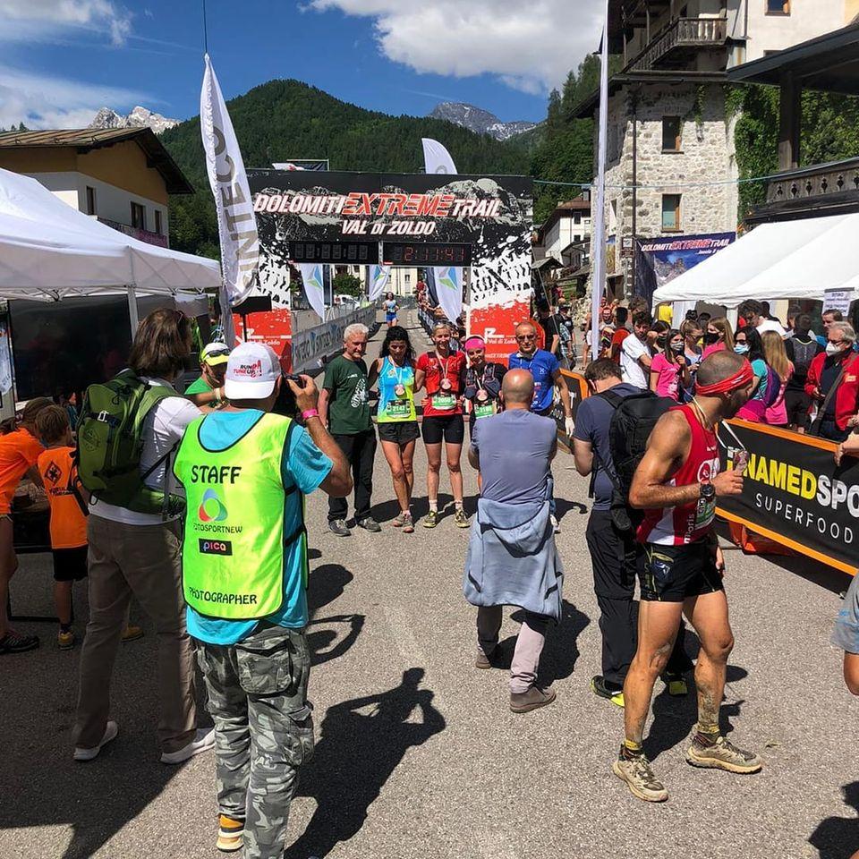 Horváth Tímea Dolomit Extrem Trail 2021
