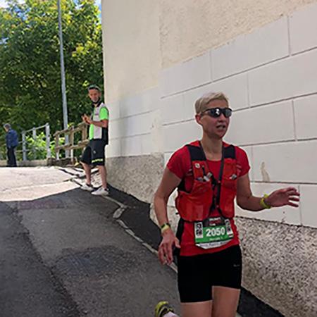 Horváth Tímea Dolomit Extreme Trail 2021